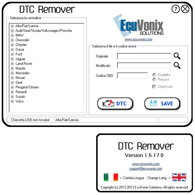 Dtc remover mtx electronics