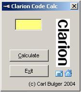 Программы для тюнинга (разблокировка кода радио), clarion code calc
