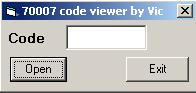Программы для тюнинга (разблокировка кода радио), ford 70007 code viewer
