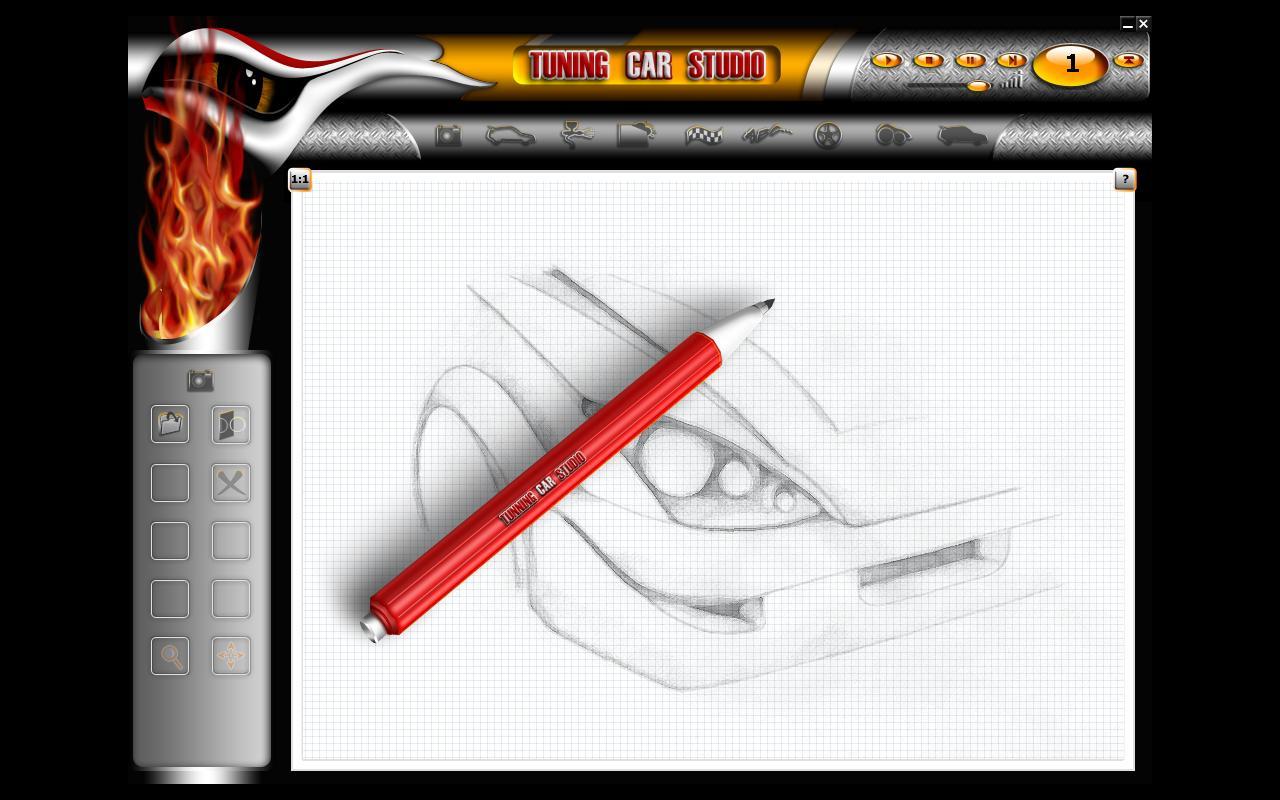 Программы для тюнинга (виртуальный тюнинг), tuning car studio, рис. 2
