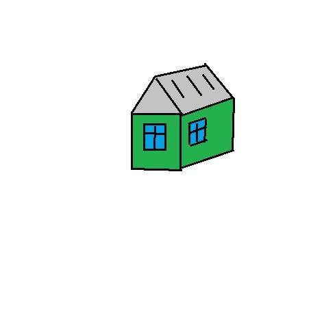 Это быстро / монтируемый садово / дачный домик, который нам предложили купить и смонтировать.