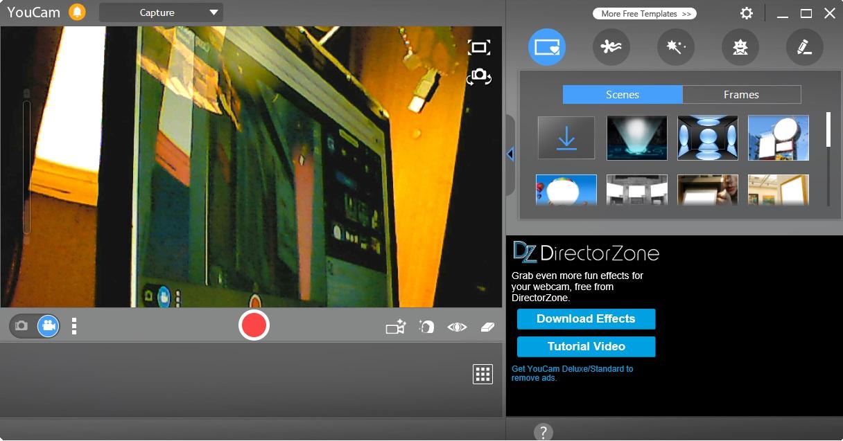 Софт на ПК для веб-камер и видеорегистраторов, программа : YouCam CyberLink.
