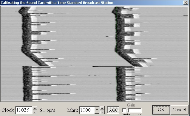 RTL-SDR, прием RTTY / MMTTY, калибровки звуковой карты, тест станции времени WWVB