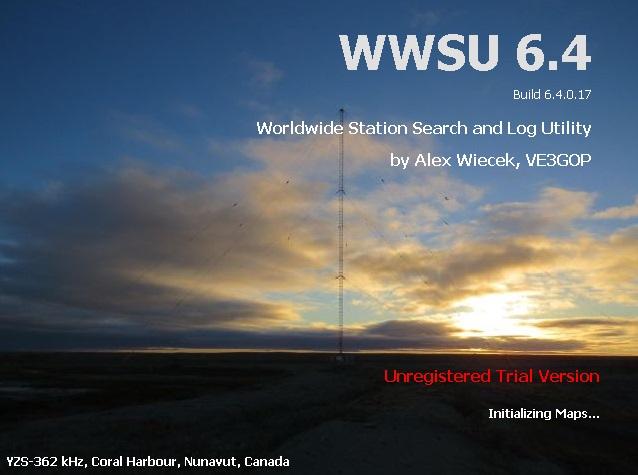 Программа WWSU, локатор станций и радиомаяков.