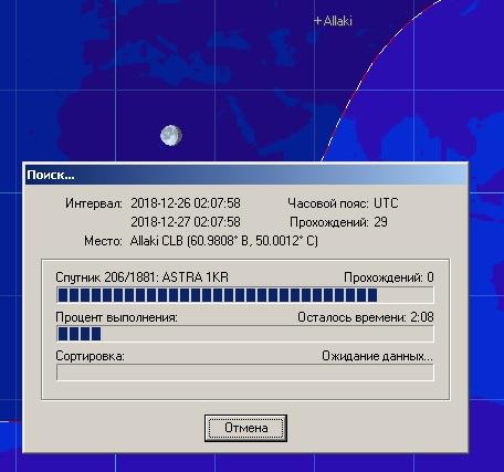 Сколько спутников летает в небе? Анализ файлов TLE, орбиты