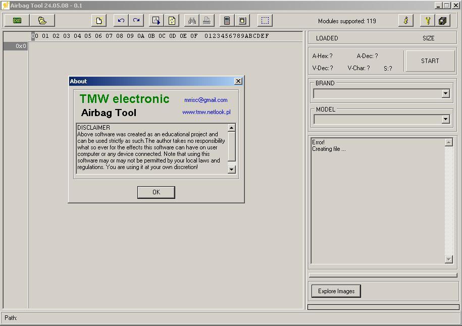 Программы для тюнинга (подушка AirBag), airbag tool v240508