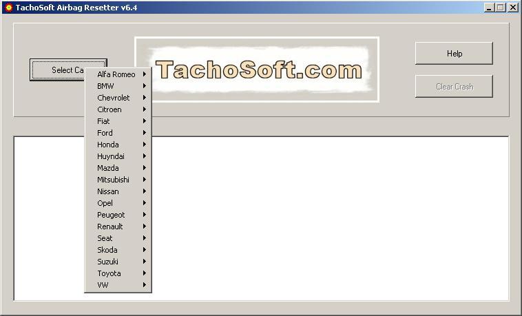 Программы для тюнинга (подушка AirBag), tachosoft airbag resetter v64