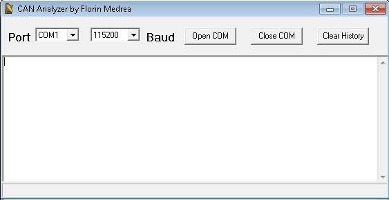 Программы для тюнинга (шина данных / DataLink), can analyzer by florin medrea