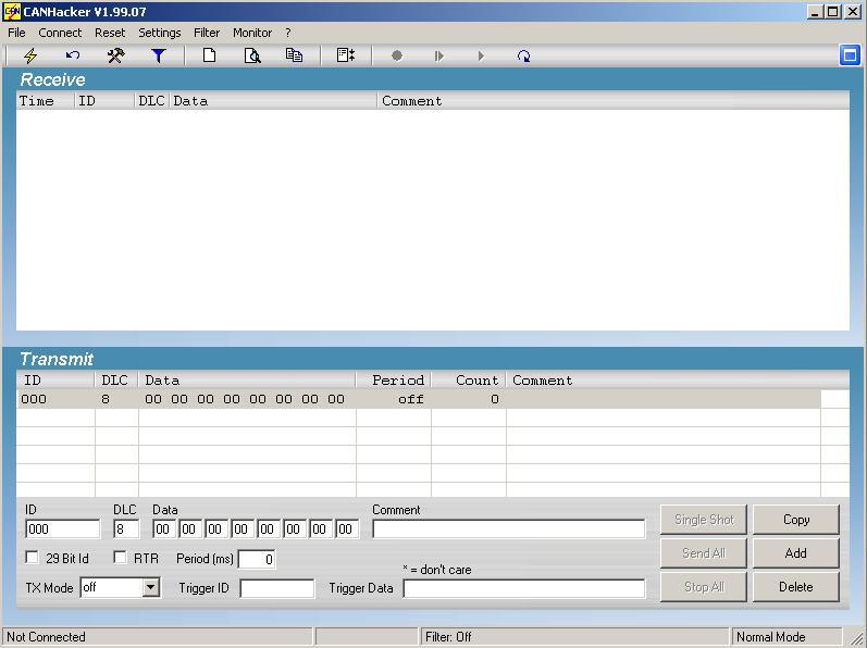 Программы для тюнинга (шина данных / DataLink), canhacker v19907