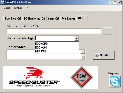 Программы для тюнинга (удаление кодов DTC), Easy-Kill v2, рис. 5