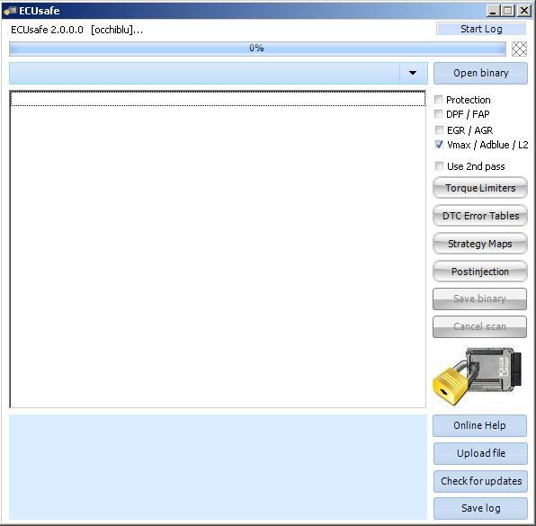 Программы для тюнинга (удаление кодов DTC), ecusafe2, рис. 2
