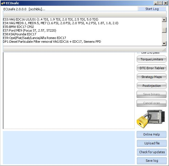 Программы для тюнинга (удаление кодов DTC), ecusafe2, рис. 3