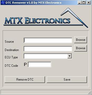 Программы для тюнинга (удаление кодов DTC), dtc remover v10