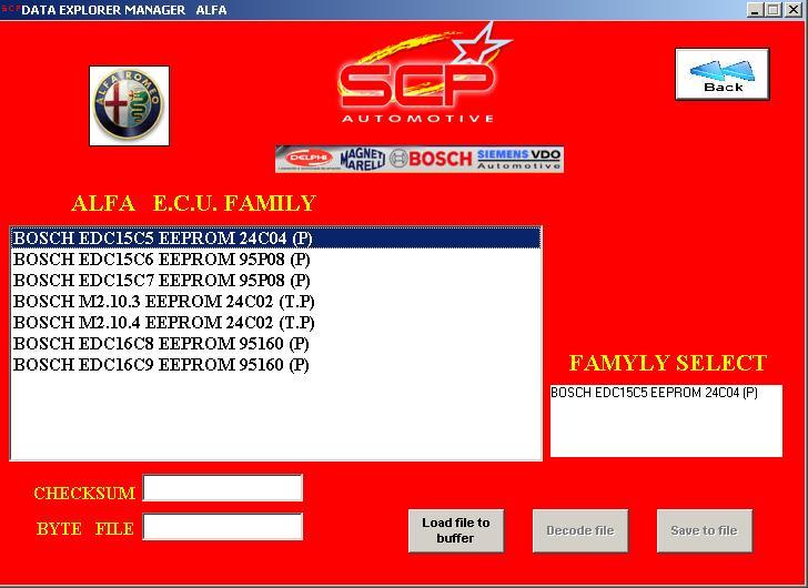 Программы для тюнинга (ремонт ЭБУ), scp automotive data explorer manager, рис. 4