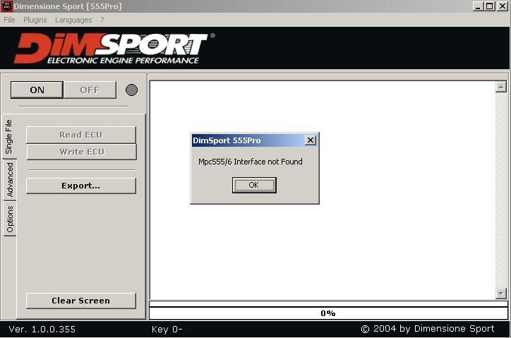 Программы для тюнинга (флэшер / лоадер), bdm100 dimensione sport 555pro, рис. 1