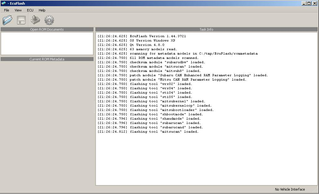 Программы для тюнинга (флэшер / лоадер), ecuflash v1443721, рис. 1