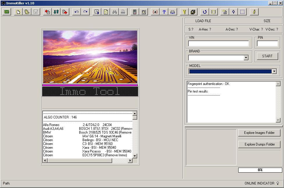 Программы для тюнинга (ключи / иммобилайзер), immokiller v110, рис. 1
