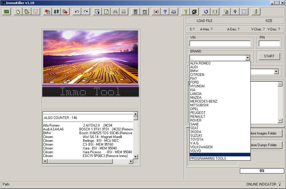 Программы для тюнинга (ключи / иммобилайзер), immokiller v110, рис. 2
