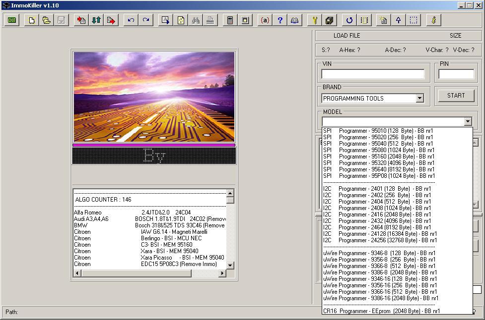 Программы для тюнинга (ключи / иммобилайзер), immokiller v110, рис. 3