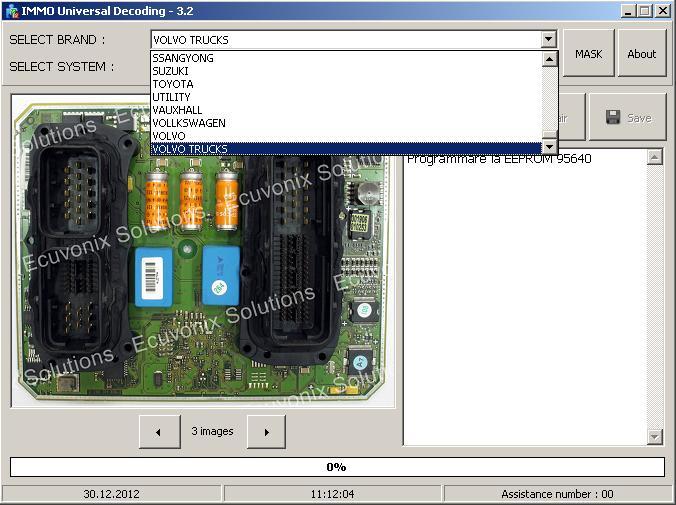 Программы для тюнинга (ключи / иммобилайзер), iud v32 immo universal decoding