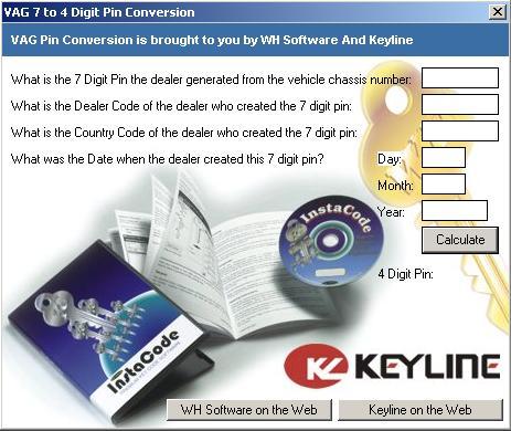 Программы для тюнинга (ключи / иммобилайзер), vag 7 to 4 digit pin conversation