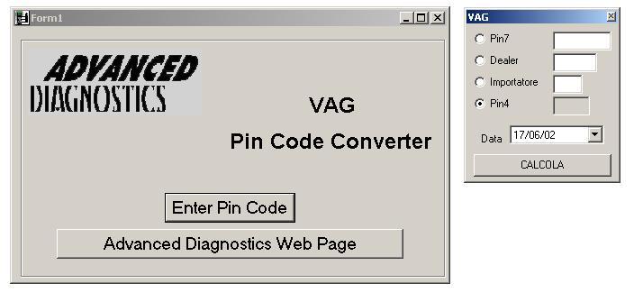 Программы для тюнинга (ключи / иммобилайзер), vag pin code converter
