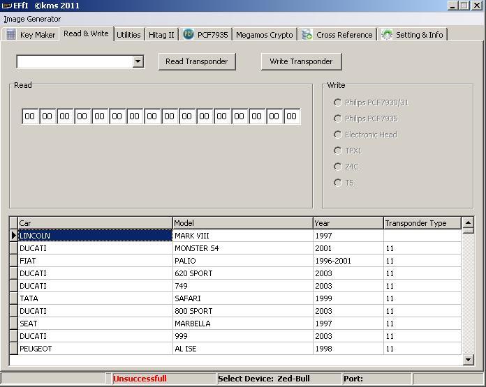 Программы для тюнинга (ключи / иммобилайзер), effi kms 2011, рис. 04