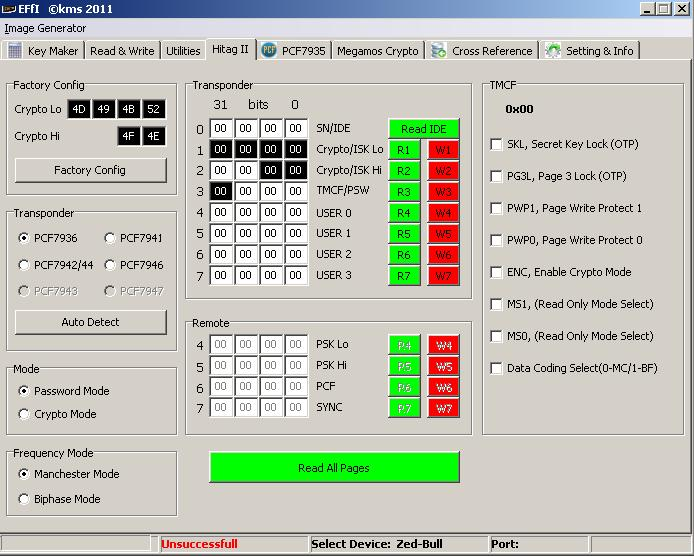 Программы для тюнинга (ключи / иммобилайзер), effi kms 2011, рис. 06
