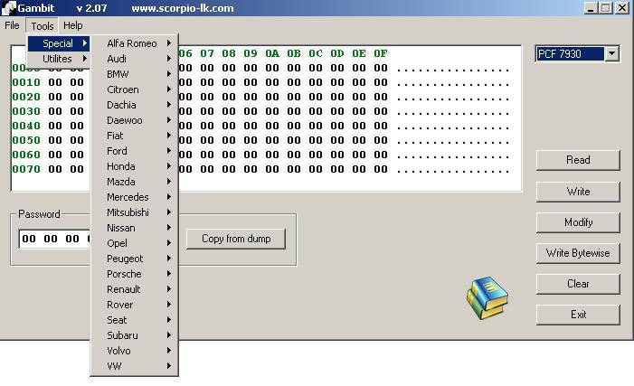 Программы для тюнинга (ключи / иммобилайзер), gambit v207 rfid transporder programming car key maker, рис. 2