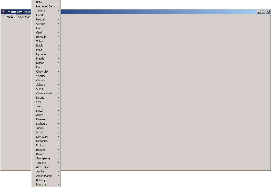 Программы для тюнинга (ключи / иммобилайзер), tm100 key programmer, рис. 2