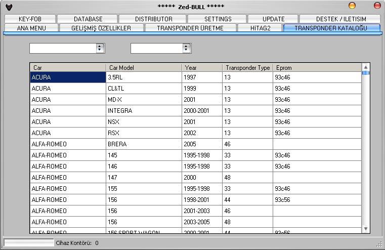Программы для тюнинга (ключи / иммобилайзер), zed bull v506, рис. 4