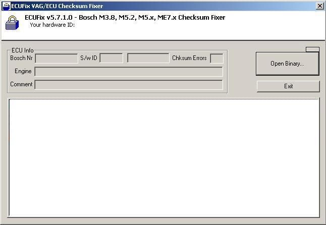 Программы для тюнинга (разные), ecufix vag ecu checksum fixer
