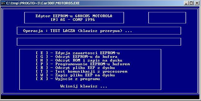 Программы для тюнинга (программаторы микросхем), edytor eeprom 68hc05 motorola