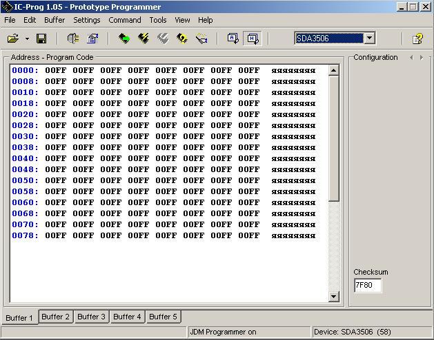Программы для тюнинга (программаторы микросхем), ic prog v105 prototype programmer