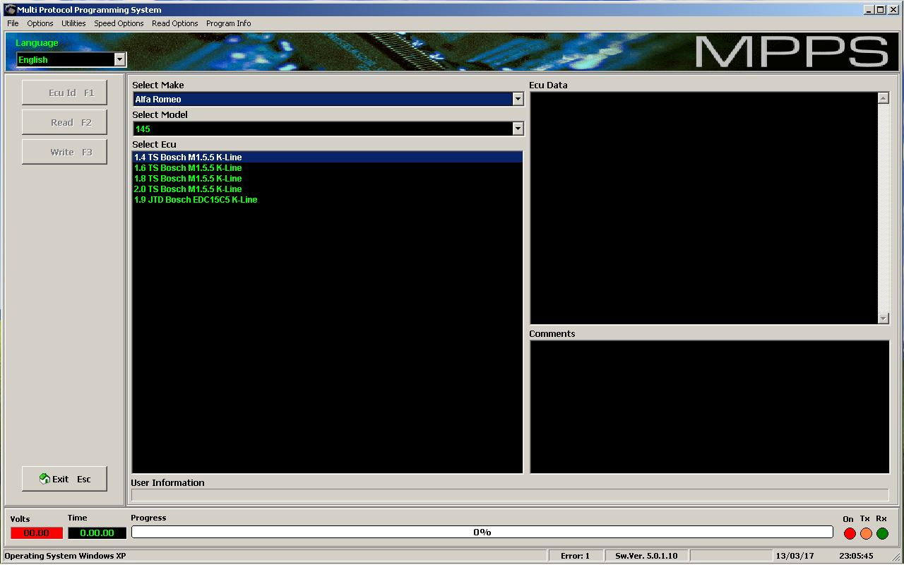 Программы для тюнинга (программаторы микросхем), mpps v5 multi protocol programming system