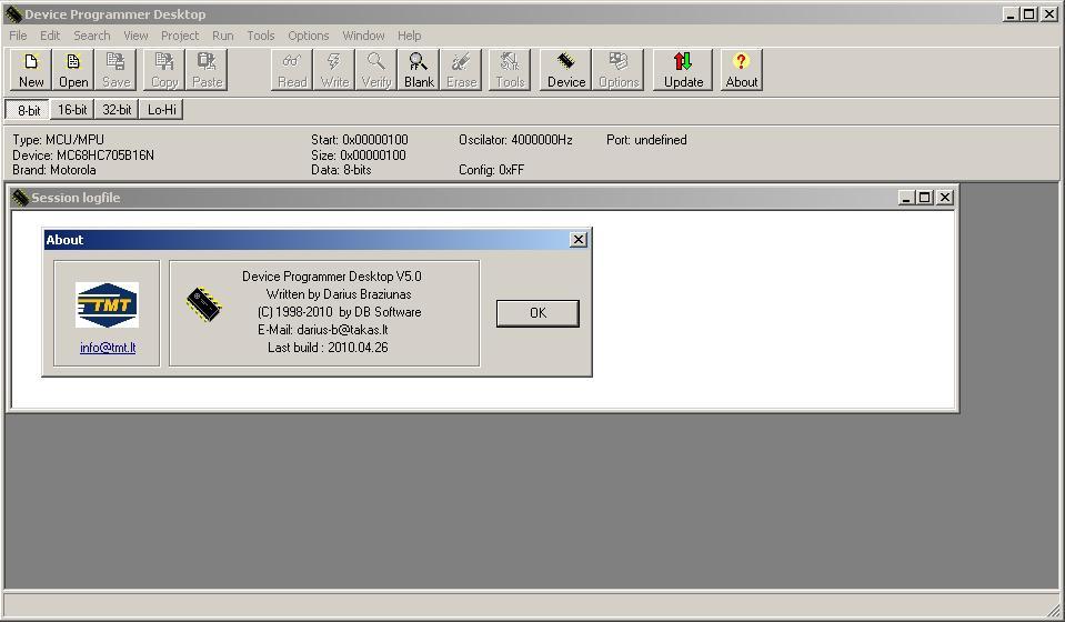 Программы для тюнинга (программаторы микросхем), xprog m v50 device programmer desktop, рис. 2