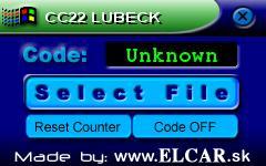 Программы для тюнинга (разблокировка кода радио), cc22 lubeck