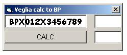 Программы для тюнинга (разблокировка кода радио), veglia calc to bp