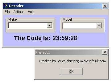 Программа для разблокировки кода радио, dragon electronics radio decoder win95 v11a, рис. 2