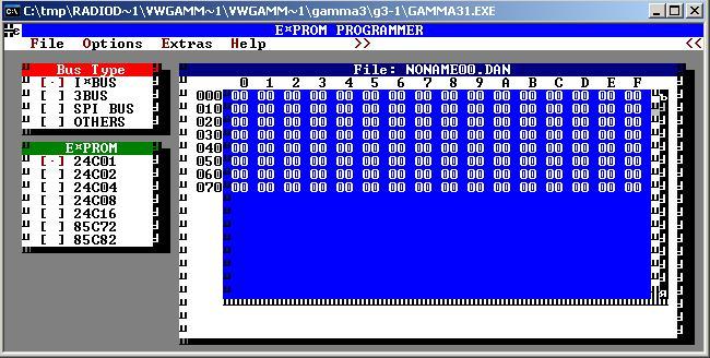 Программы для тюнинга (разблокировка кода радио), philips gamma3 e prom programmer